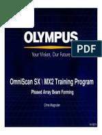 OmniSX MX2 Training 4E Phased Array Beam Forming