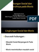 3. Social Environment DA 1 - Feb 2014