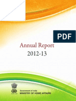 Annual report by Indian Governmenmt