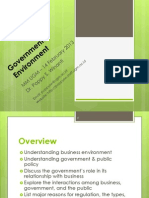 10. Governmental Environment PO - Feb 2014