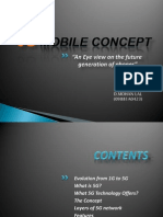 5G mobile concept