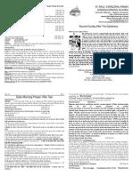 Boletín del Segundo Domingo de Epifanía 19012014 Ciclo A