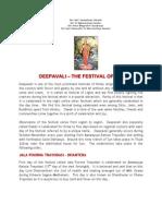 Deepavali - The Festival of Lights