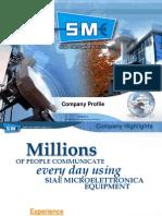 SIAE Company Profile Para TEMM