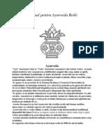 Manual Pentru Ayurveda Reiki Forma Finala