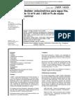 Nbr 14005 - Medidor Velocimetrico Para Agua Fria de 15 Metro