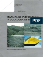 ManuaL de Perforación y Voladura de Rocas - LOPEZ JIMENO