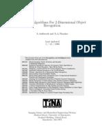 Algorithms for 2-Dimensional Object