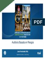 Justo Hernández Veliz-Auditoría basada en Riesgos