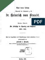 Memoiren des preussischen Generals Heinrich von Brandt