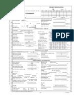 Air Cooler Data Sheet