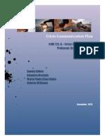 BP Crisis Communication Plan