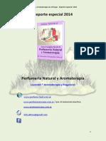 Reporte Especial 2014 . Curso Aromaterapia y Perfumería . Lavendel®
