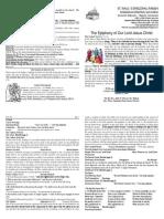 Boletín del Día de Epifanía -05012014 - Ciclo A