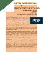 CONTRATO INDIVIDUAL Y SUS CARACTERISTICAS.doc