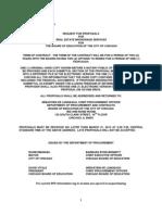 14_250007 RFP for Real Estate Brokerage Services