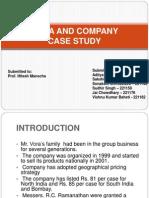 Vora and Company PPT