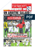 Edition du 12 octobre 2009