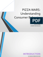 Pizza Wars Market Research (AMM)