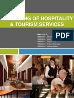 Marketing of Hospitality & Tourism Services