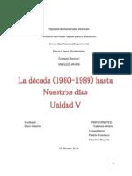 República Bolivariana de Venezuela trabajo
