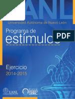 Programa de Estímulos 2014 - 2015