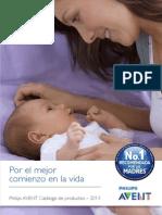 Catalogo Avent 2013