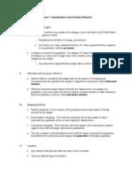 Statistics in Plain English, 3rd Ed - Chapter 1 Summary