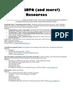 lgbtq resource guide