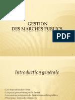 Cours Les Marchés publics hassania