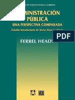 Administración Pública-Ferrel Heady
