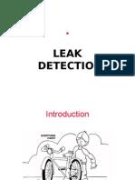 Vacuum Leak Detection