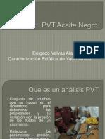 PVT Aceite Negro
