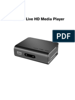 Western Digital WD TV Live HD Network Media Player USERGUIDE