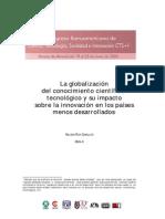 GLOBALIZACION CIENCIA