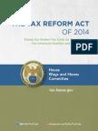 Dave Camp Tax Reform Executive Summary