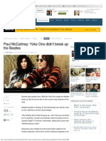 Paul McCartney_ Yoko Ono didn't break up the Beatles _ Fox News