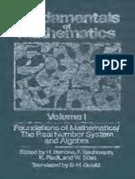 Volumen1. Fundamentals of Mathematics.