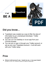 How To Be A Tweetdeck Ninja