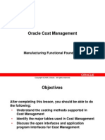 EDU35A0Y- Oracle Cost Management