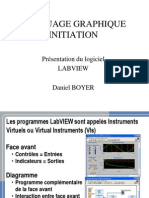 Initiation Labview