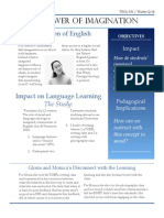 Presentation Handout for Imagined Communities of English