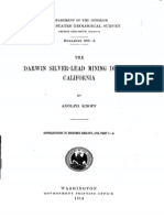 Bulletin 580,Knopf Darwin Silver Lead Mining District 1914