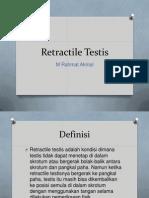 Retractile Testis