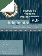 Sesión N° 06 Introducción a la Administración