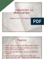 Intro Methodism 1-Beginnings
