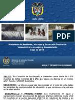 Política Colombiana de Agua y Saneamiento Seminario Rotario