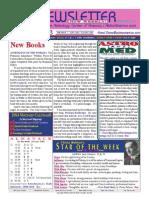 ASTROAMERICA NEWSLETTER DATED NOVEMBER 12, 2013