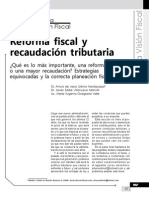Reforma y recaudación fiscal 2013