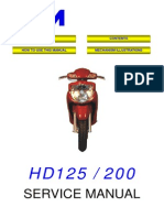 SYM HD200 Service Manual